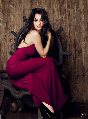Penelope Cruz by Mango