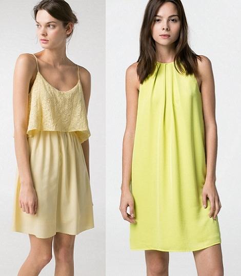 vestidos cortos de mango para fiestas verano 2014