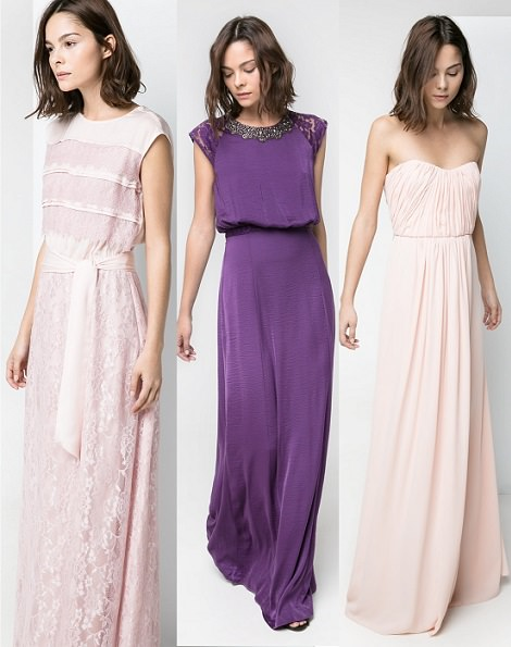 vestidos de mango largos para fiestas verano 2014