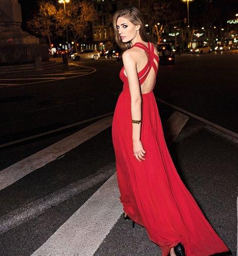 vestidos de mango para fiestas verano 2014