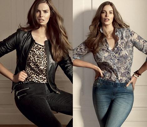 Mango lanza su nueva línea Violeta con tallas grandes camisa