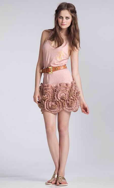 Vestidos cortos de fiesta, verano 2010