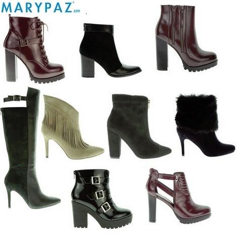 botas de tacón de Marypaz otoño invierno 2014 2015