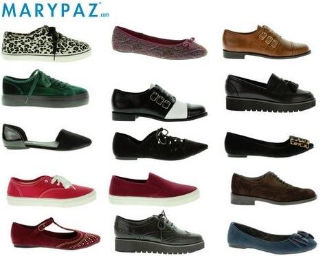 zapatos planos de Marypaz otoño invierno 2014 2015