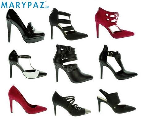 Zapato Tacon Rojo Marypaz