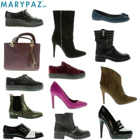 catálogo de zapatos y botas de Marypaz otoño invierno 2014 2015