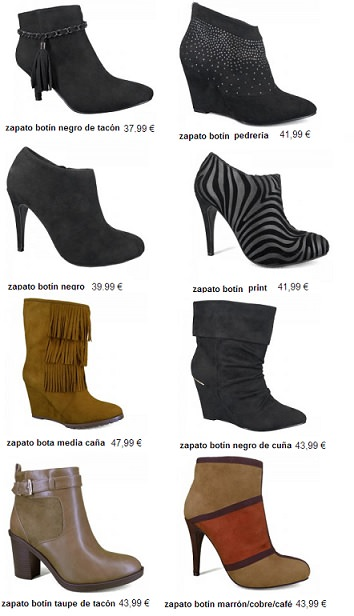 catálogo de zapatos marypaz otoño invierno 2013 2014