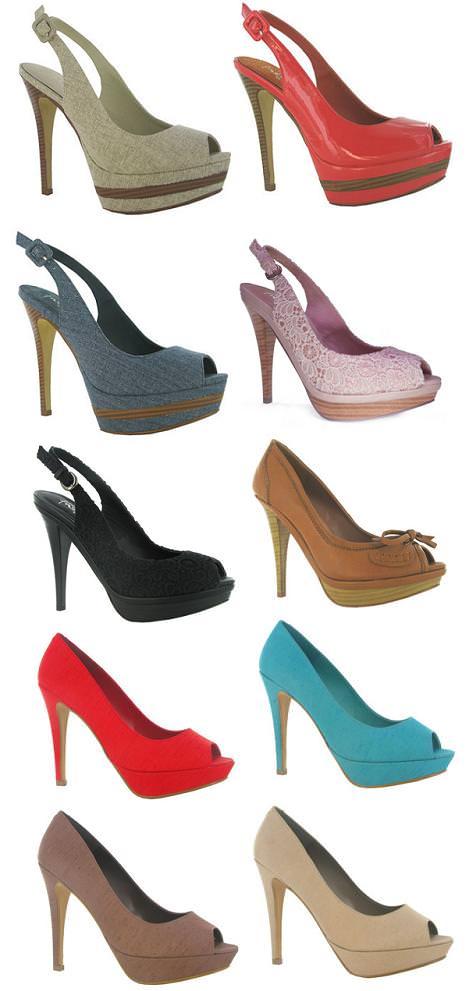 Zapatos MaryPaz primavera 2012 peep toe