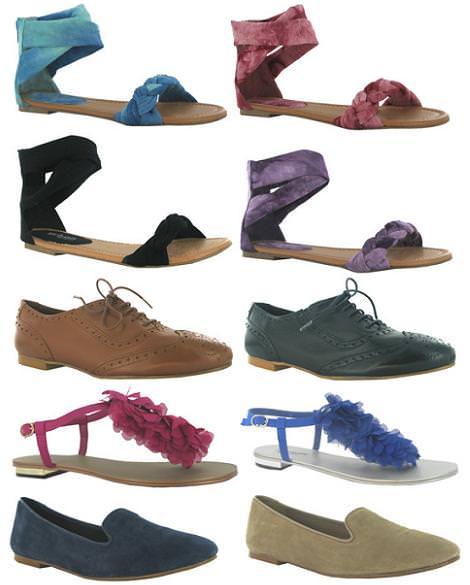 Zapatos MaryPaz primavera 2012 sandalias planas y oxford