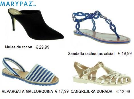 20ec7767 Nueva colección de zapatos y sandalias de Marypaz primavera verano ...