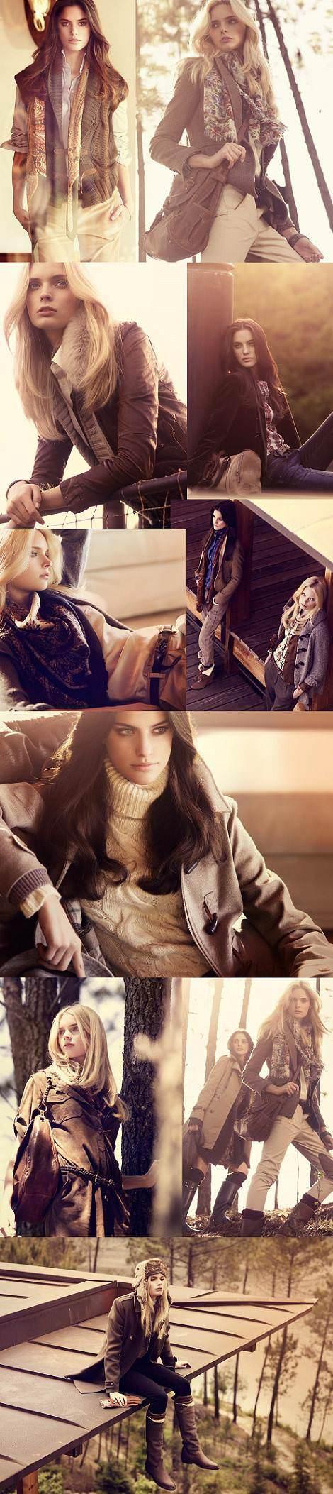 Massimo Dutti Sport, moda otoño invierno 2010 2011