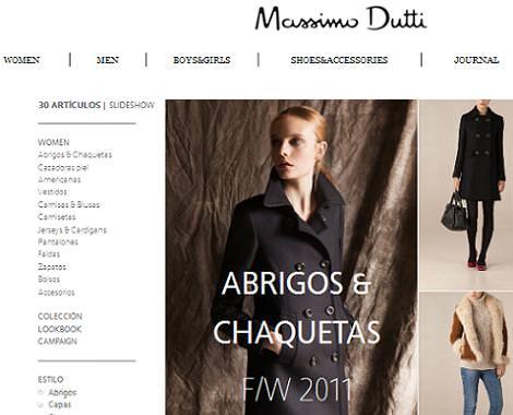 Massimo Dutti tienda online