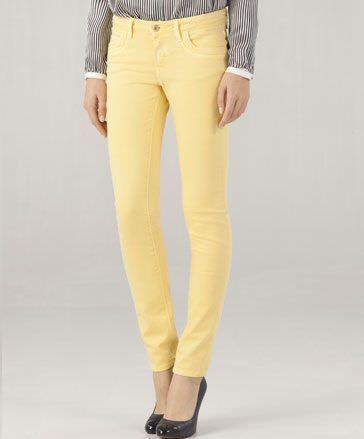 massimo dutti pantalon amarillo