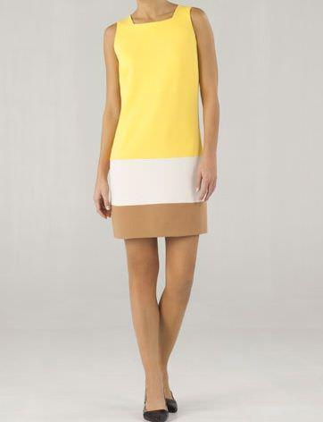 massimo dutti vestido amarillo