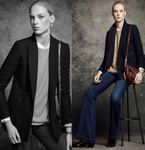 jeans de massimo Dutti otoño invierno 2014 2015
