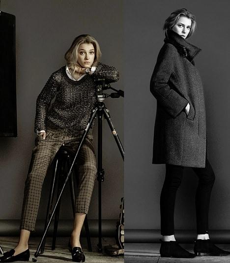 Lookbook de Diciembre de Massimo Dutti; pantalones