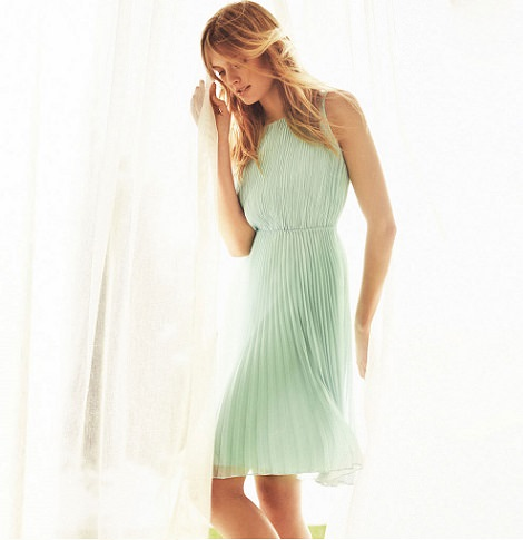 vestidos de Massimo Dutti verano 2014