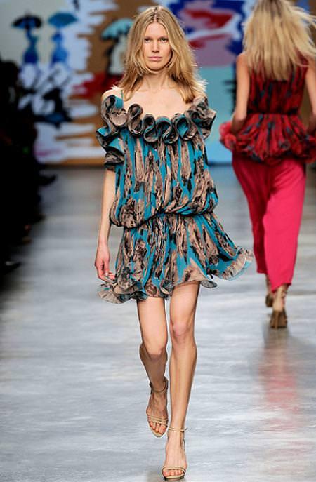 Stella McCartney, moda primavera verano 2010