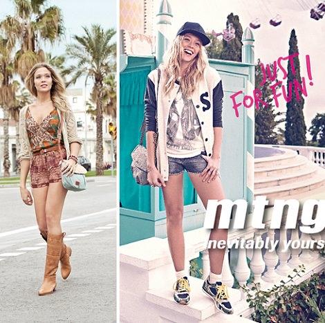 catálogo de zapatos Mustang verano 2014