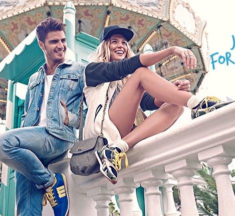 catálogo de zapatillas deportivas Mustang verano 2014