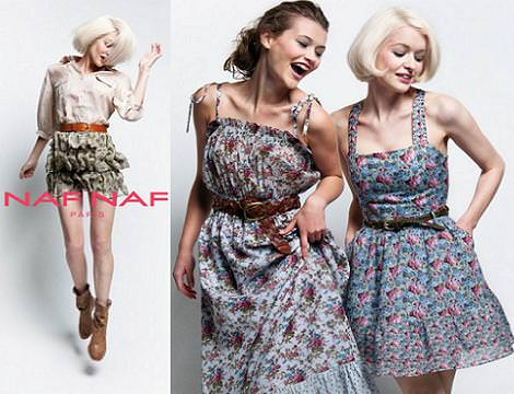 Naf Naf Catálogo primavera 2011