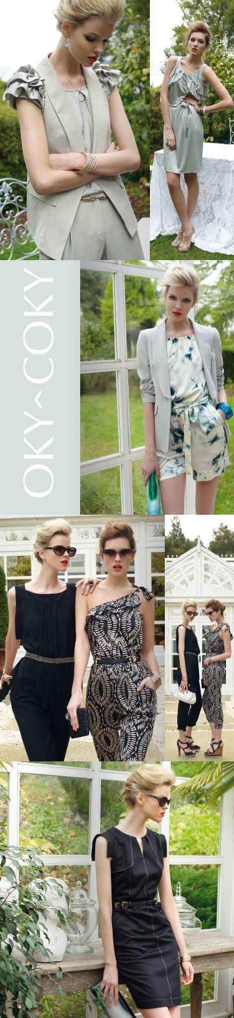 Oky Coky catálogo primavera verano 2011