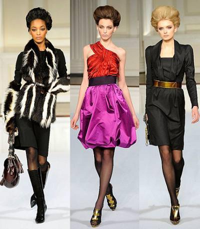 Oscar de la Renta, moda otoño invierno 2009 2010