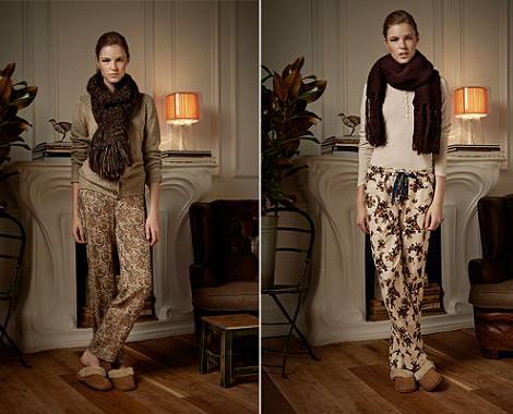 Pijamas y otra ropa de Oysho: invierno 2011