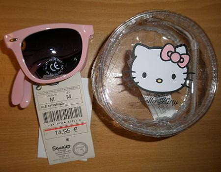 Gafas de sol de Hello Kitty en Oysho