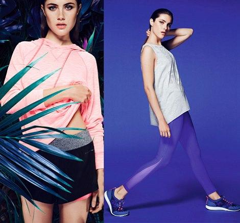 Catálogo de Oysho ropa de deporte para primavera verano 2014