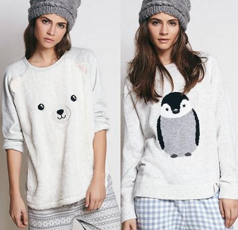 camisetas de Oysho invierno 2014