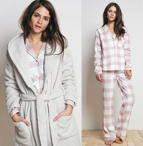 pijamas y ropa de Oysho invierno 2014