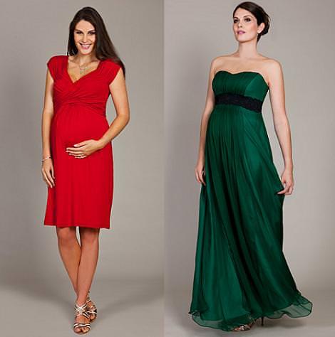 Ropa de fiesta 2010/2011 para embarazadas