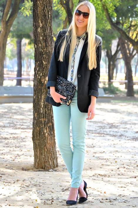 Tendencias primavera 2012 : Pantalones mint