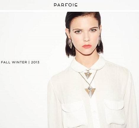 los nuevos accesorios de Parfois para este otoño invierno 2013 ya están aquí