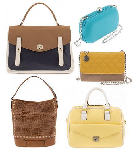 Parfois primavera verano 2012: bolsos