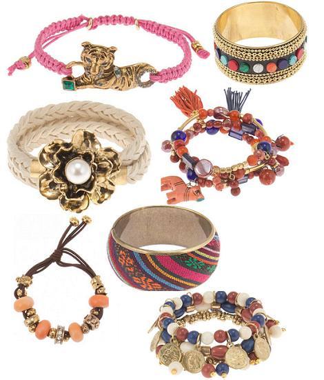 Parfois primavera verano 2012: pulseras