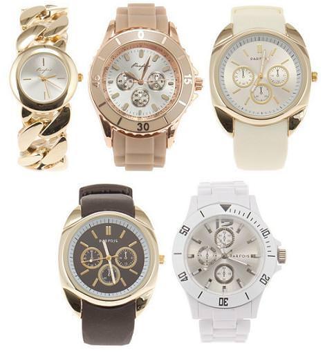Parfois primavera verano 2012: relojes