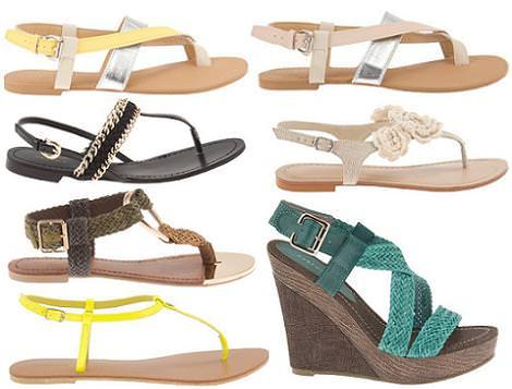 Parfois primavera verano 2012: sandalias