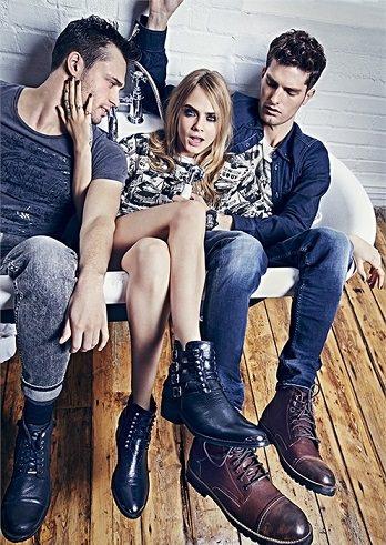 botas de Pepe Jeans otoño invierno 2014 2015
