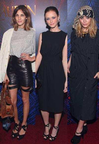 Alexa Chung, Ashley Olsen, Alexis Bledel,... con YSL y el perfume Belle d'Opium