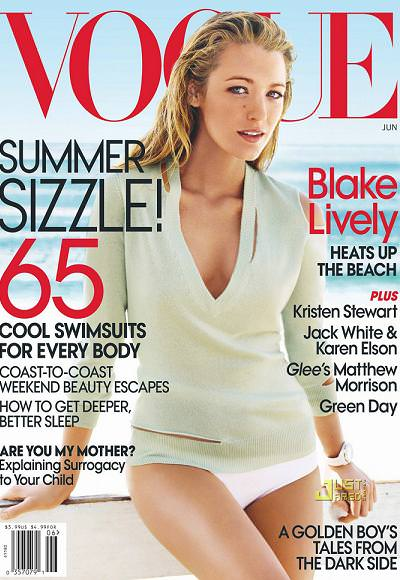 Blake Lively en Vogue (junio 2010)