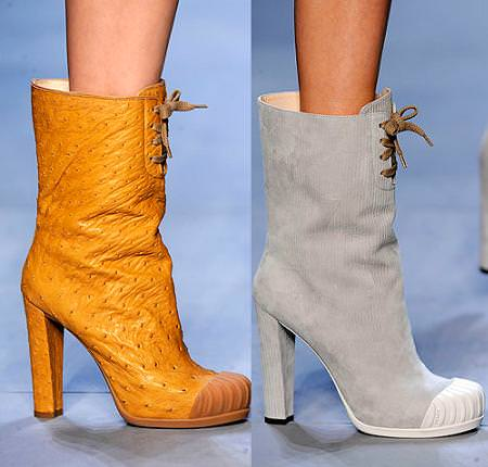Tendencias moda otoño 2010: Botines