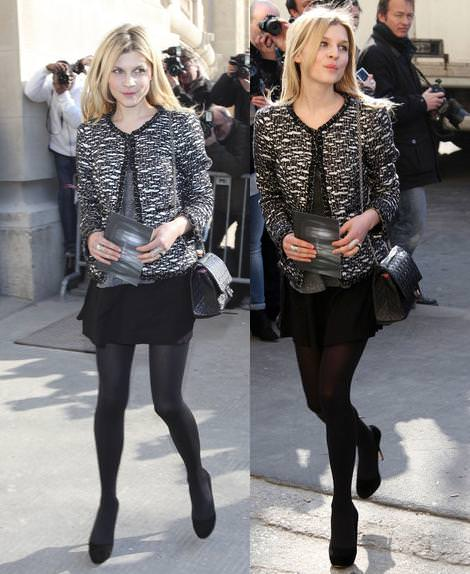 Alexa Chung, Clemence Poesy y otras it girls con Chanel en la Paris Fashion Week