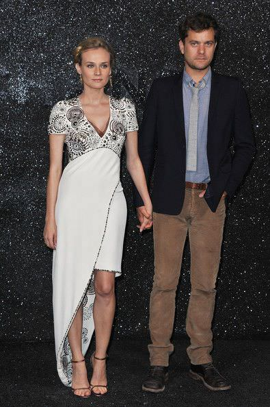 Diane Kruger en el front row de Chanel