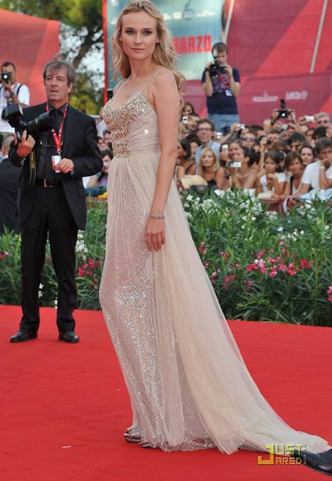 Diane Kruger en Venecia