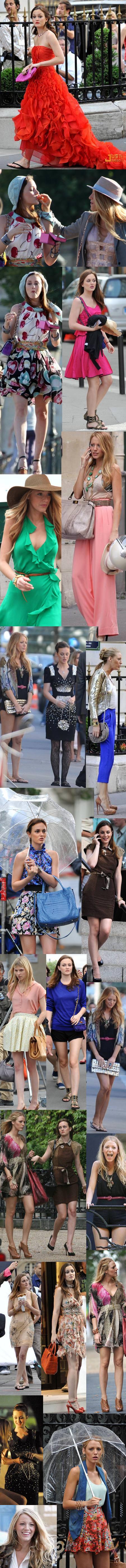 Leighton Meester en París con Gossip Girl