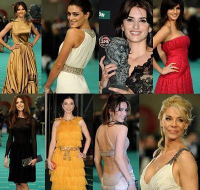 Los Goya 2010... quién ganará en la alfombra roja?