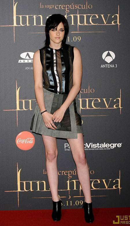 Kristen Stewart en la presentación de New Moon en Madrid