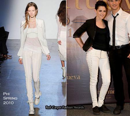 Kristen Stewart en la presentación de New Moon en México